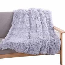 YOUSA Super Soft Shaggy Faux Fur Blanket Ultra Plush Decorative Throw Bl... - $63.41 CAD