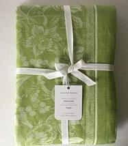 "Williams-Sonoma Spring Jacquard Tablecloth ~70"" x 126~Spring Green~ - $99.00"