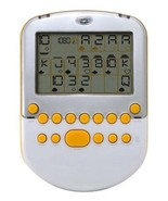 Big Screen Solitaire - White/ Silver with Yellow Accents - $97.76