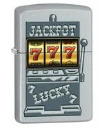 Zippo Lighter: Lucky 7 Slot Machine - Satin Chrome   DS - $33.20