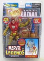 Toybiz Saubaster Iron Man Marvel Legends - $103.99