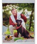 KARE 11 Ron Schara's Black Lab Raven 8x10 autographed signed photo (A18) - $14.85