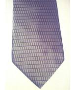 NEO Bill Blass Tie Gold w/ 3-D Effect Box Pattern Black/Gray Elegant Fab... - $17.30