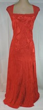 VTG 80's ELEGANT LONG nightgown GOLD Label LARGE Victoria's Secret RUBY ... - $44.65