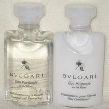 Bulgari au the blanc white tea shampoo and conditioner new travel size 11 thumb200