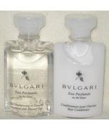 Bulgari Au The Blanc White Tea Shampoo and Conditioner -Travel Size - $7.50