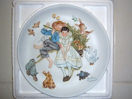 """NORMAN ROCKWELL Plate Dish  """"SPRING-SWEET SONG SO YOUNG PLATE"""" L/E Colle... - $49.95"""