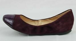 Cole Haan Mujer Zapatos Bailarinas Vino Piel ante Talla 7B - $28.31