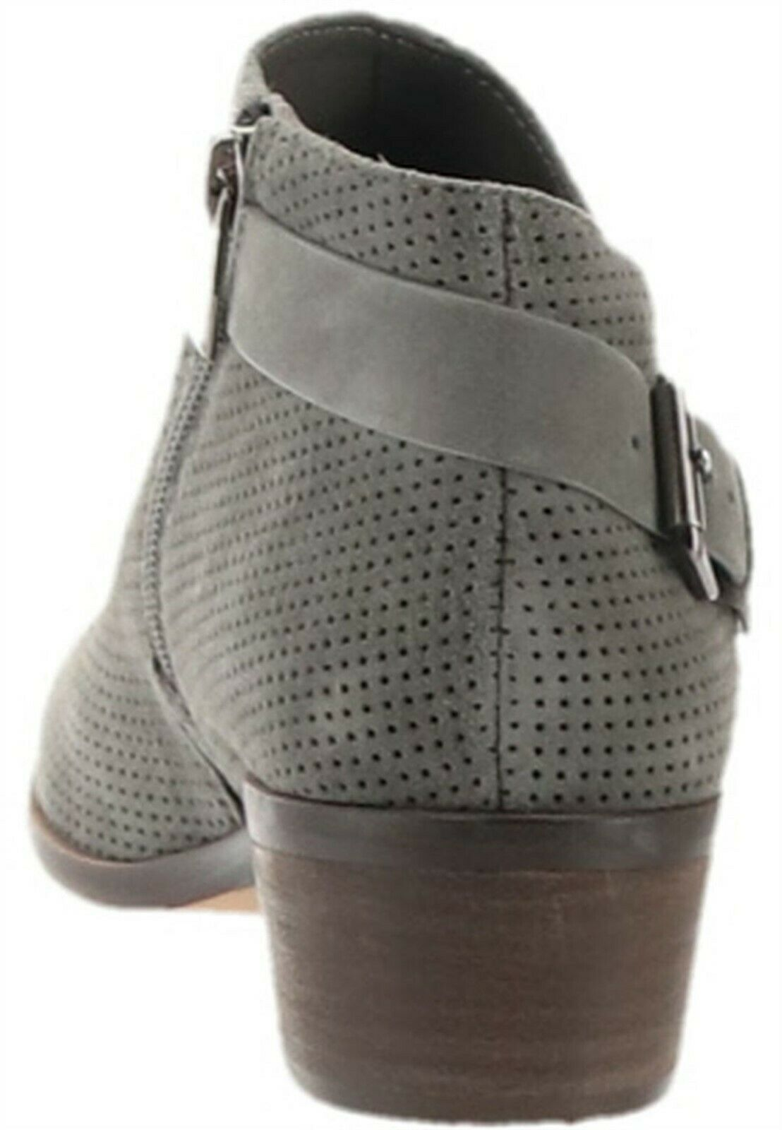 Vince Camuto Suede Booties Buckle Parveen Greystone 5.5M NEW A311049 image 4