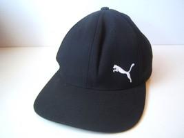 Puma Hat Black Snapback Baseball Cap - $15.28