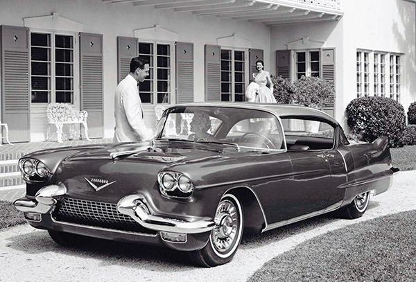 Primary image for 1955 Cadillac Eldorado Brougham Concept Car - Promotional Photo Poster