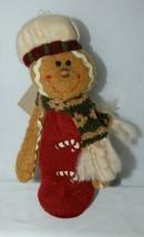Hannas Handiworks 27148 Stretch Gingerbread Man 3 Set Christmas Ornament image 2