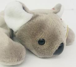 "Ty Mel Koala Bear Beanie Babies 7"" Date Of Birth January 15 1996 Grey Tag - $13.99"