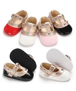 New 4 Color Leather Infant Soft Bottom Toddler Shoes Girls Walking Shoes... - $16.99
