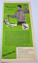 1948 Print Ad Buck Skein Joe Outdoors Man Jackets Lustberg Nast New York... - $8.94