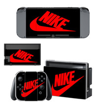 NINTENDO SWITCH - Nike, Black - Vinyl Skin + 2 Controller Skins [0069] - $12.85