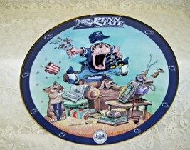 Danbury Mint Penn State Nittany Lions Fan Collectible Plate by Gary Patterson - $24.39