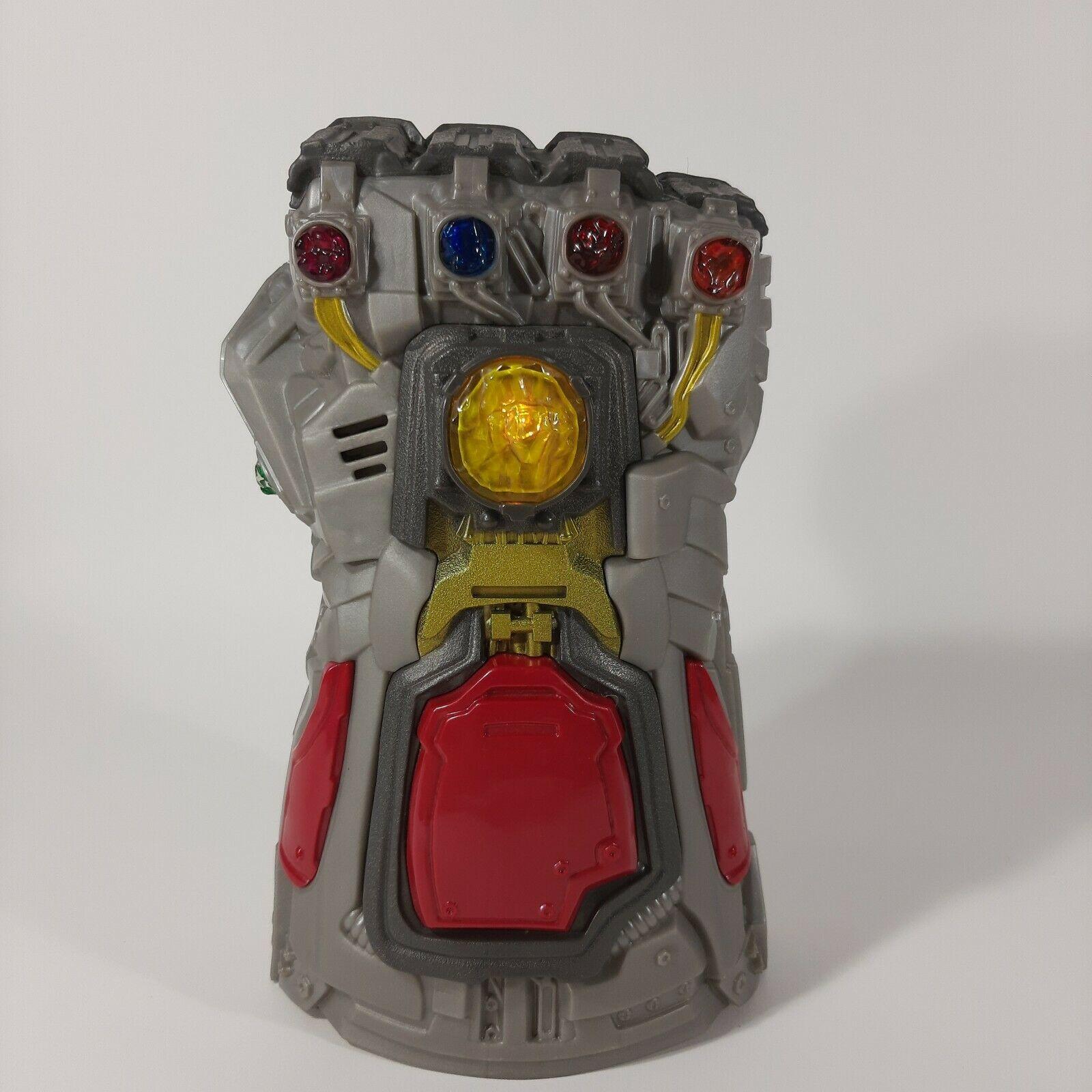 Marvel Avengers: Endgame Electronic Thanos Gauntlet Fist Roleplay Toy Hasbro - $14.03