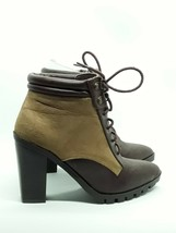 Qupid Women's Wicker  Brown and Distress boot size 6 - $43.00
