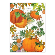Michel Design Works TOW281 Cotton Kitchen Dish Towel, Pumpkin Melody - $20.98