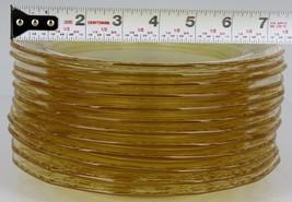 "12 Elegant Fostoria Glass VERSAILLES TOPAZ Salad Plates 7 1/2"" 10 MINT & 2 NM"