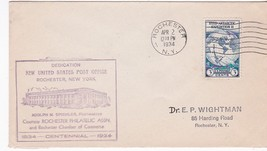 Post Office Dedication Rochester New York April 2 1934 - $1.98