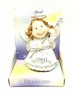 Home For ALL The Holidays Birthday Angel Figurine 3.5 Inches (April) - $14.85