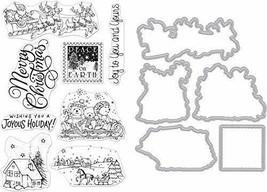 Hero Arts Stamp & Die Combo Winter Joy - $31.00