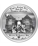 Richelle Mead Vampire Academy Series 6 unabridged Audio books on  mp3 cds - $33.20