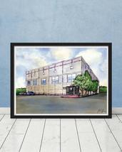 The Office Pam's Watercolor Painting Scranton Schrute Michael Scott Gift... - $26.98