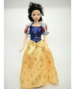 """Disney Princess Snow White 12"""" Doll 1999 Mattel with Sparkly Gown - $14.10"""
