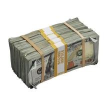 PROP MOVIE MONEY - New Series $50,000 Aged Full Print Prop Money Package - $139.99