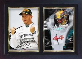 Lewis Hamilton signed autographed Mercedes AMG Formula 1 Petronas Framed... - $19.27