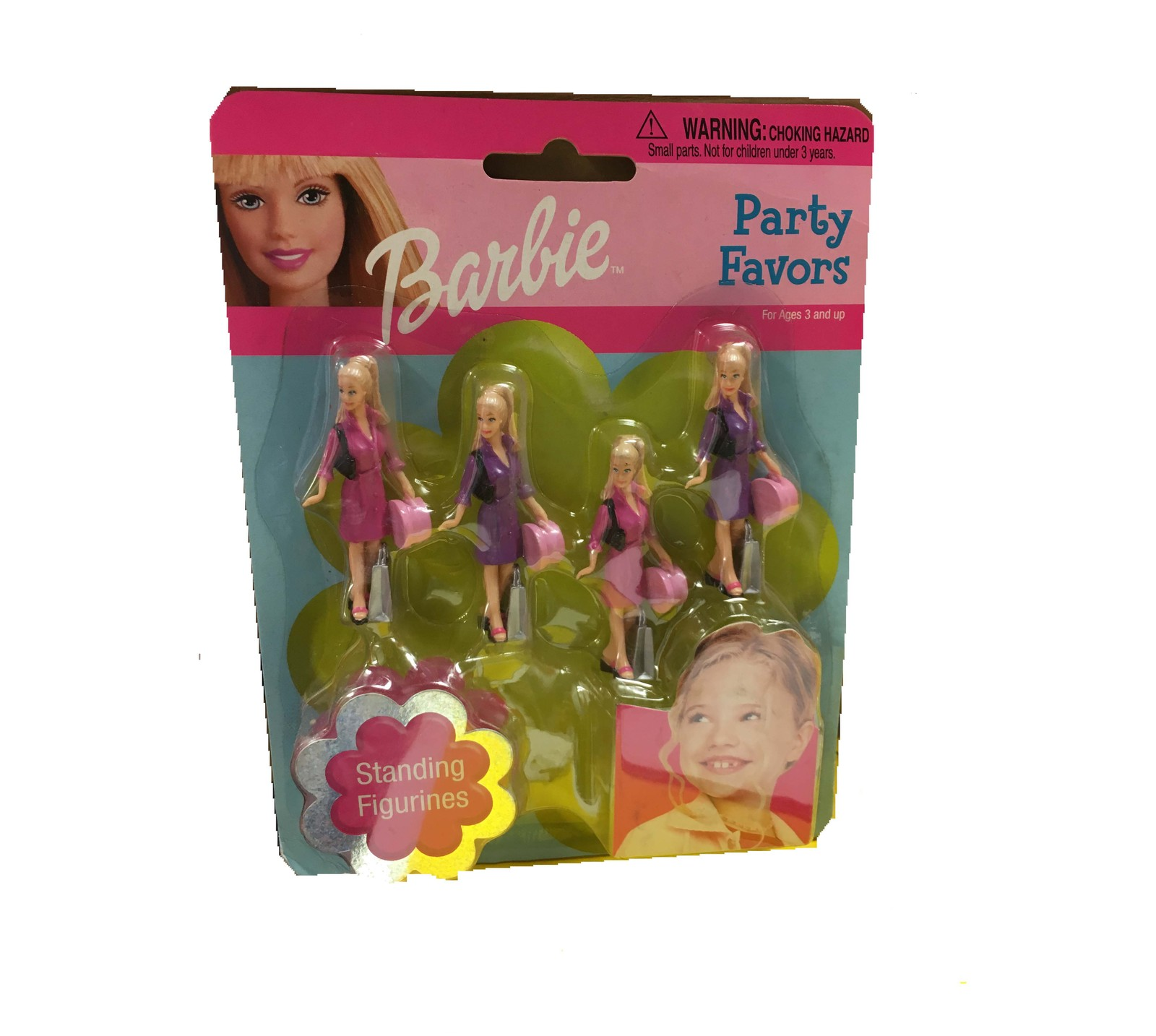 Primary image for BARBIE PARTY FAVORS STANDING FIGURINES