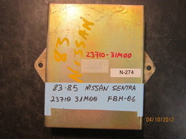 ^^83 84 85 NISSAN SENTRA ECM #23710-31M00/FBM-06 *see item description*(... - $9.41