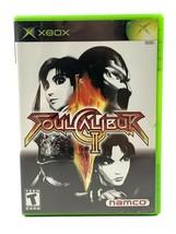 Soul Calibur II Microsoft Xbox, 2003 CIB Complete Tested Black Label image 1