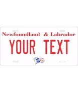 Newfoundland 2003 Tag License Plate Personalized Auto Bike Motorcycle Moped - $10.99+