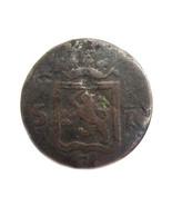 1921 Netherlands East Indies Copper 1 Duit Coin - $535,81 MXN