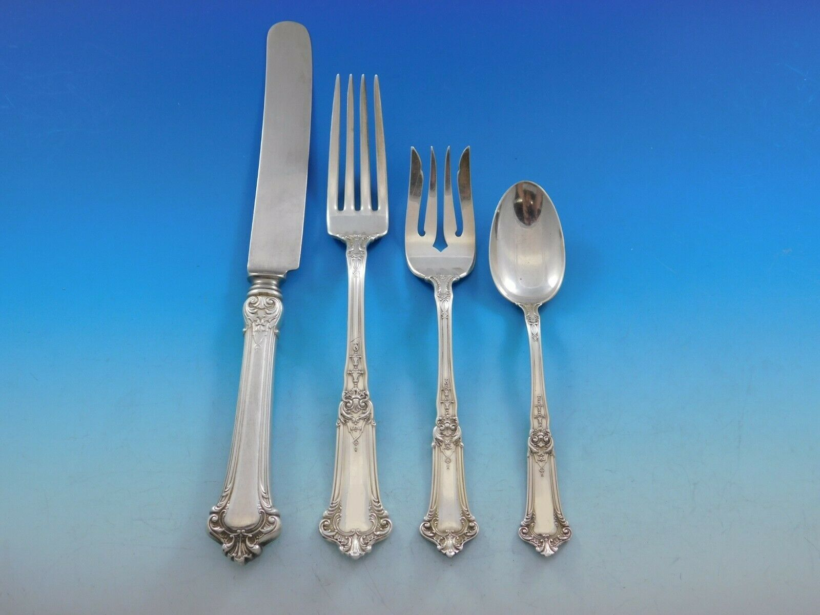 Primary image for Albemarle by Gorham Sterling Silver Flatware Set for 12 Service 48 pcs Dinner