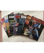 Vintage Lot of 7 CORVETTE QUARTERLY magazines Late-1990's -2000 - $23.71