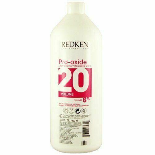 Redken Pro-Oxide Cream Developer 20 Volume 6%, 33.8 Oz - $20.56