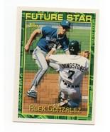 1994 Topps Future Star #67 Alex Gonzalez Rookie Card - $1.25