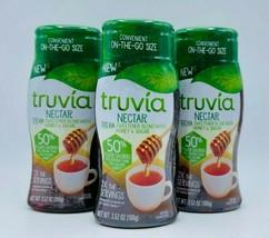 3 x Truvia Nectar Stevia Sweetener Blend With Honey 3.52 oz Each Free Sh... - $39.99