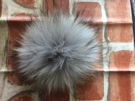"4""/6"",Large Faux Fur Pom Pom Fox Accessories DIY Winter Keychain Handbag - $3.17+"