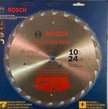 """Bosch CBCL1024 10"""" x 24 Tooth Ripping Saw Blade With 5/8"""" Arbor Japan - $13.86"""