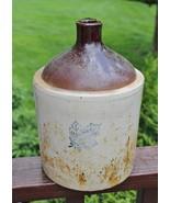 Vintage Monmouth Western Stoneware 1 Gallon Crock Jug - $158.38