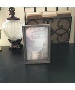"""SWING DESIGN Picture Frame 6"""" x 4"""" RUSTIC WOOD Charcoal Farm House COUNTRY - $14.84"""