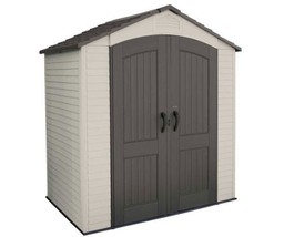 Lifetime 7'W x 4.5'D Small Plastic Outdoor Garden Storage Shed Kit (60057) - $758.95