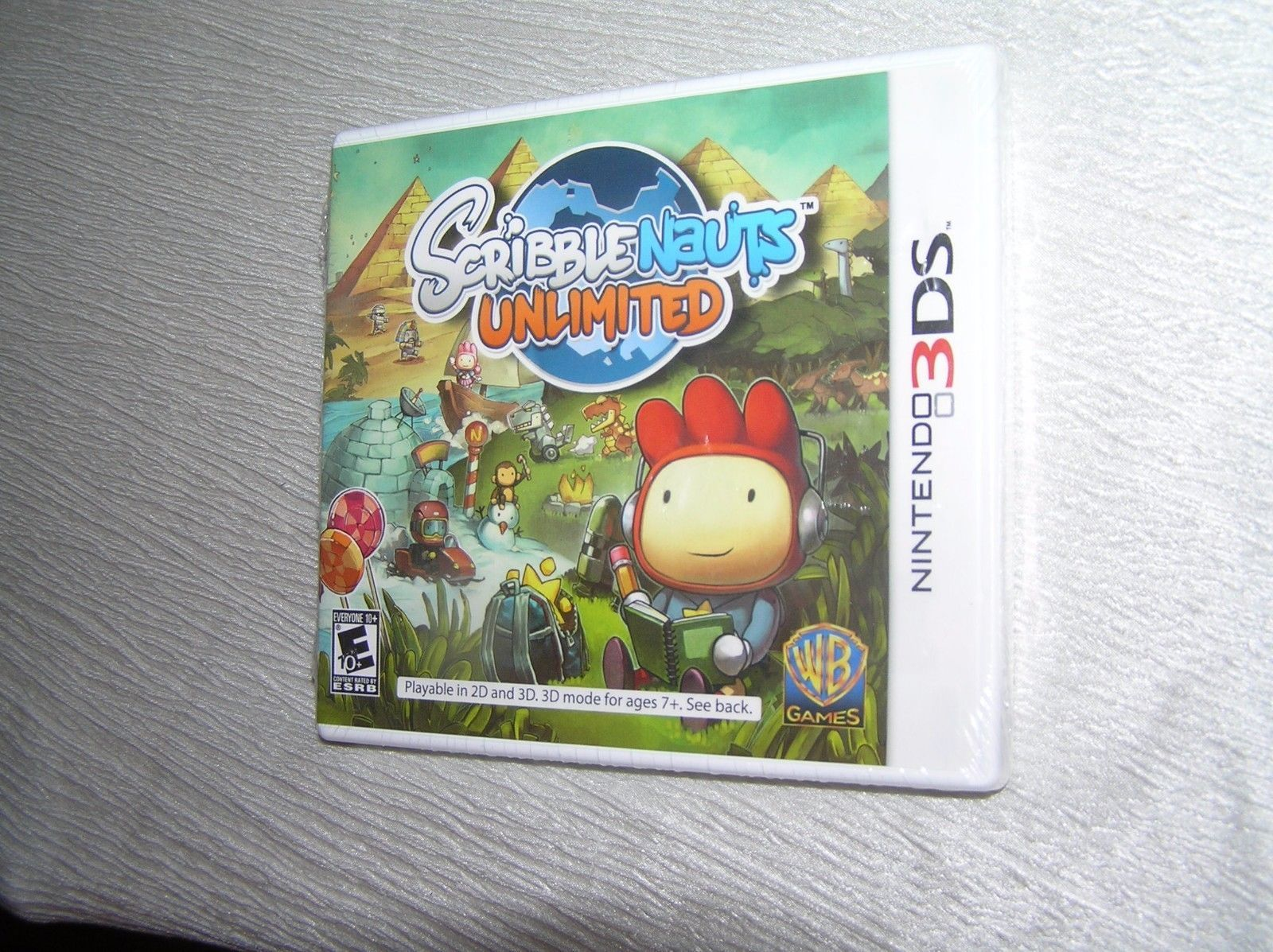 Nintendo 3DS Scribblenauts Unlimited Video and 50 similar items