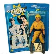 Jon Mego Chips action figure toy 1977 vtg moc cop patrol police John Cal... - $247.50